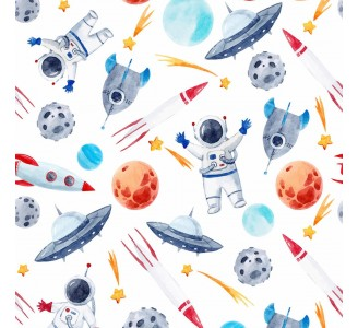 Cosmos Theme Removable Wallpaper pattern