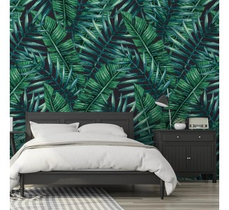 Dark Jungle Removable Wallpaper