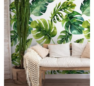 Palm Leaves Removable Wallpaper