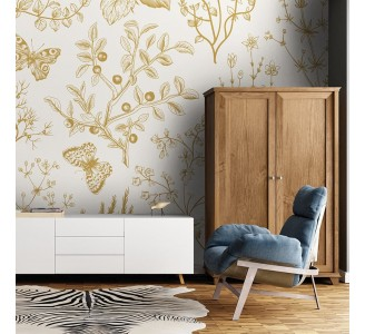 Wild Herbs Removable Wallpaper