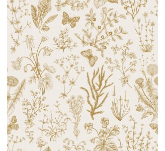 Wild Herbs Removable Wallpaper pattern