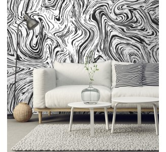 Abstract Lines Removable Wallpaper