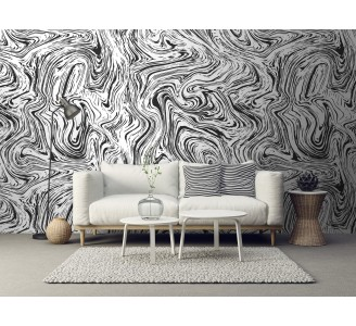 Abstract Lines Removable Wallpaper full view