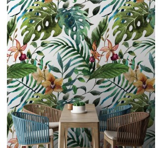 Exotic Nature Removable Wallpaper