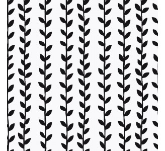 Branches with Leaves Removable Wallpaper pattern