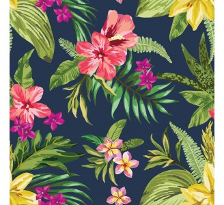 Exotic Hawaii Removable Wallpaper pattern