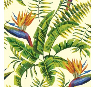 Exotic Jungle Removable Wallpaper pattern