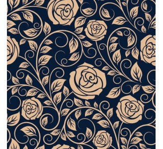 Vintage Roses Removable Wallpaper pattern