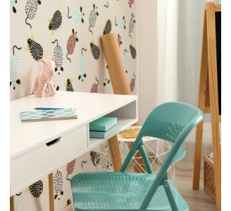 Scandinavian Cute Mouses Removable Wallpaper