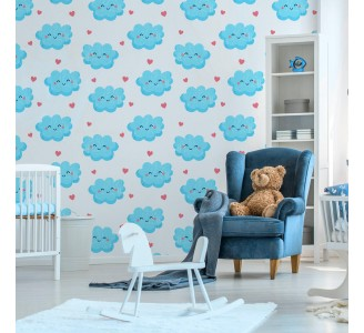 Sweet Clouds Removable Wallpaper