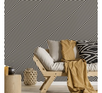 Zigzag Lines Removable Wallpaper