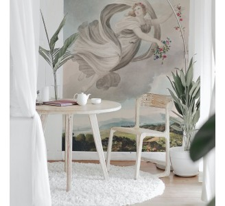 Watercolor Angel Removable Wallpaper