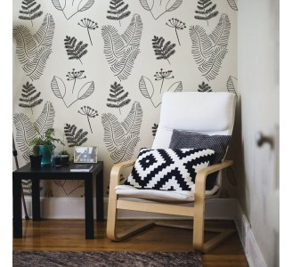 Nordic Style Twigs Removable Wallpaper