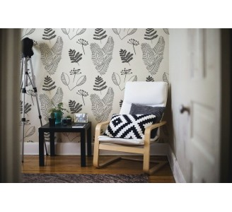 Nordic Style Twigs Removable Wallpaper full view