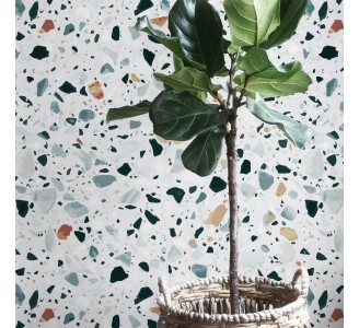 Italian Terrazzo Removable Wallpaper