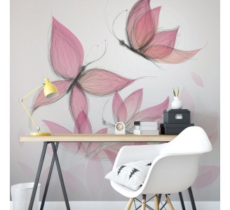 Butterfly Removable Wallpaper