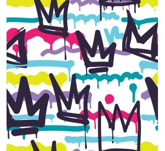 Graffiti Removable Wallpaper pattern