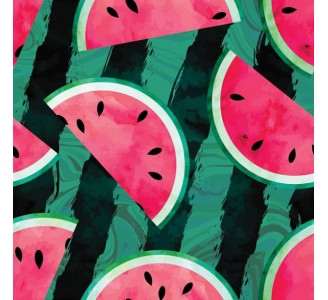 Watermelons Removable Wallpaper pattern