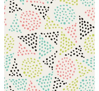 Dotted Triangles Removable Wallpaper pattern