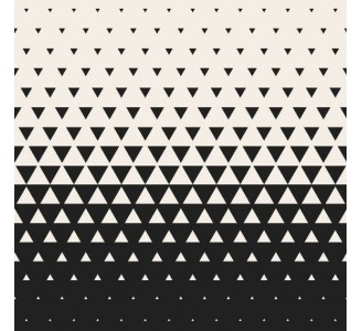 Black and White Triangles Removable Wallpaper pattern