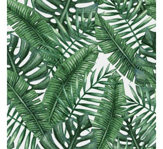 Exotic Leaves Removable Wallpaper pattern