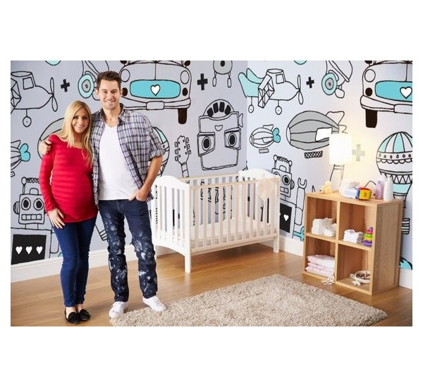 Boys World Removable Wallpaper
