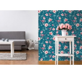 Floral Love Removable Wallpaper