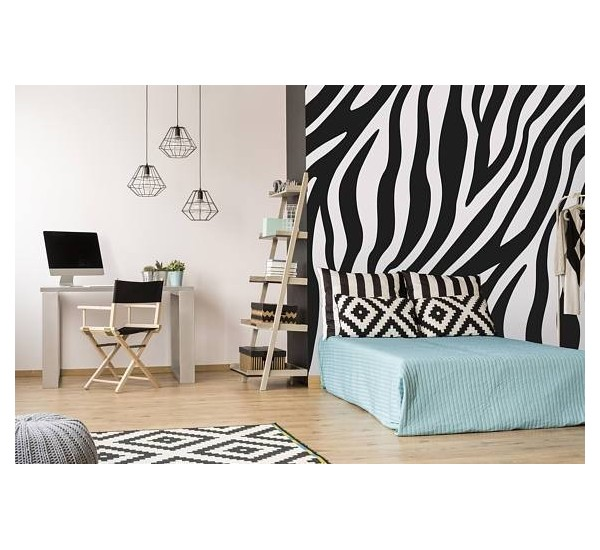 Zebra Style Removable Wallpaper