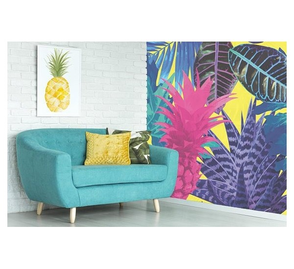 Tropical Fruits Removable Wallpaper