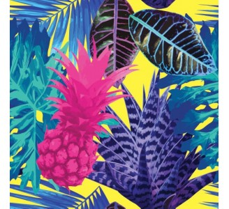 Tropical Fruits Removable Wallpaper pattern
