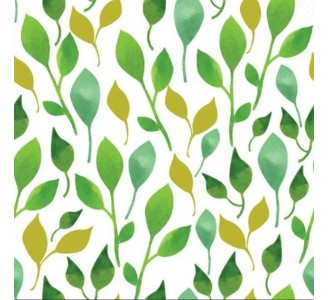 Spring Leaves Removable Wallpaper pattern