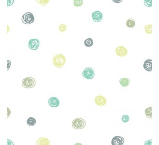 Cute Dots Removable Wallpaper pattern