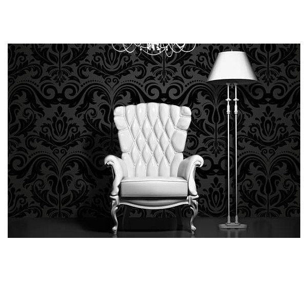 Vintage Dark Luxury Removable Wallpaper