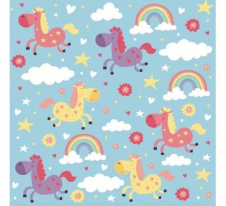 My Little Pony Removable Wallpaper pattern