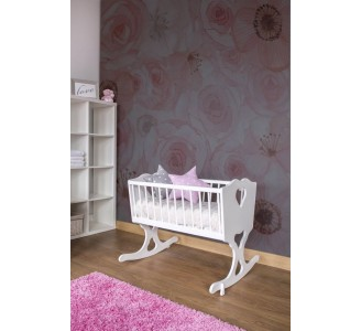 Calm Pink Roses Removable Wallpaper nursery