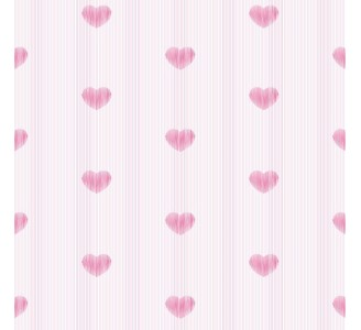 Subtle Hearts Removable Wallpaper pattern