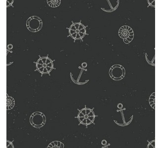 Marine Dreaming Removable Wallpaper pattern
