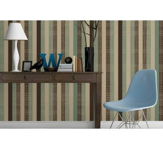 Vintage Stripes Removable Wallpaper