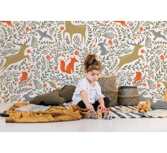 Forest Animal Removable Wallpaper