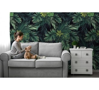 Tropical jungle Removable Wallpaper