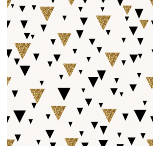 Gold triangles Removable Wallpaper pattern