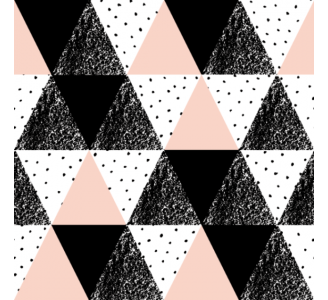 Pink triangles Removable Wallpaper pattern